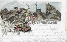 AK 0263  Gruss Vom Wendelstein - Lithographie Um 1903 - Miesbach