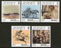 JERSEY, 1986 BLAMPIED 5 MNH - Jersey