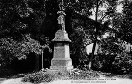 Amanvillers Monument De Jeanne D'arc - France