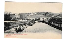 Namur La Sambre Vue Du Pont De Salzinnes - Namur