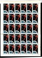 Russia 1963 Mi 2743 A MNH** Full Sheet - Full Sheets
