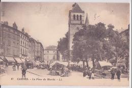CPA -  17.  CAHORS -  La Place Du Marché - Cahors