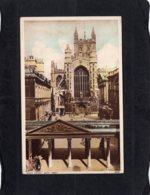 87254    Regno  Unito,  West  Front,  Bath  Abbey,  VG  1954 - Bath
