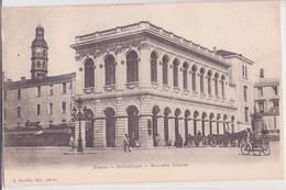 CPA -   CAHORS Bibliothèque Nouvelles Galeries - Cahors