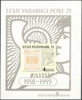 ESTLAND 1993 Mi-Nr. Block 5 ** MNH - Estonia