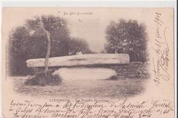 CPA - LIVERNON - La Pierre-martine - Livernon