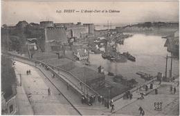 29 - BREST - L'Avant - Port Et Le Château - Brest