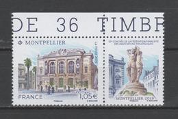 FRANCE / 2019 / Y&T N° ?2019/06/11 ** : Montpellier (Théâtre Municipal) BdF Haut - Gomme D'origine Intacte - France