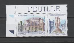 FRANCE / 2019 / Y&T N° ?2019/06/11 ** : Montpellier (Théâtre Municipal) CdF Sup G - Gomme D'origine Intacte - France