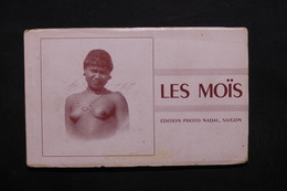 INDOCHINE - Carte Postale - Carnet De Types Moïs  - L 32823 - Vietnam