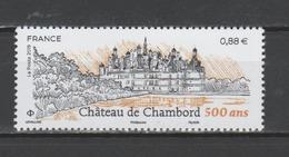 FRANCE / 2019 / Y&T N° ?2019/06/03 ** : Château De Chambord - Gomme D'origine Intacte - France