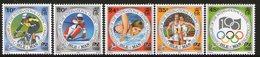 ISLE OF MAN, 1994 OLYMPIC GAMES 5 MNH - Isle Of Man