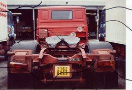 PHOTO COULEUR. CAMION REMORQUE UNIC - Automobiles