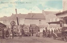 CP - Halluin - Bureau De La Douane - Barrière - Oldtimers - Douane