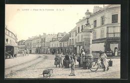 CPA Livry, Place De La Fontaine - France