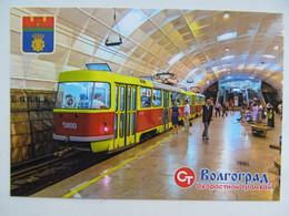 Russia Volgograd Metro Tram Modern PC - Tranvía
