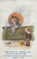 Illustration Fred Spurgin - I Only Want My Soldier Boy (Je Ne Désire Que Mon Soldat!) N.A Series N° 1002 - Spurgin, Fred