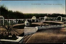 Cp Olsztyn Allenstein Ostpreußen, Parkanlagen Bei Jacobsberg - Ostpreussen