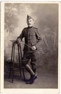 Fotokaart - Carte Photo - Soldat Soldaat - Photo De L'Yser - Le Tréport - Uniformes