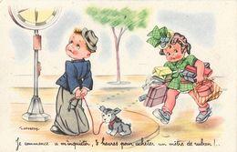 Illustration J. Gougeon: Je Commence à M'inquiéter, 3 Heures Pour Acheter... Carte S.P. Non Circulée - Gougeon