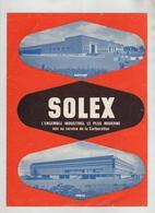 Publicité Solex Nanterre Evreux - Advertising