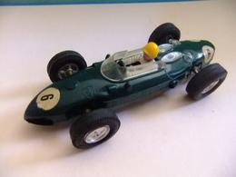 SCALEXTRIC Triang FERRARI V6 Verde N 6 Guia Fija Made In Spain - Circuitos Automóviles