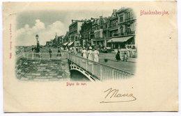 CPA - Carte Postale - Belgique - Blankenberghe - Digue Et Mer - 1900 (B9001) - Blankenberge