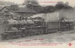 LOCOMOTIVE ( Ouest ) Machine N° 2815 Compound à 4 Cylindres ..... - Trains