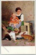 52047162 - Hasen Sign. F. J. - Kinder