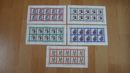 Deutschland Zehner Bogen Postfrisch Alle Abgebildet - Stamps