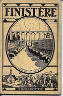 29 FINISTERE  Par HACHETTE En 1924 71 PAGES  Avec PUB ET PLANS ;( Format 11 X 18) - Bretagne