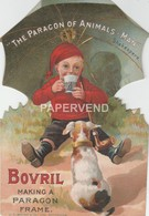 Advert  BOVRIL Cut-out  Advert  1909  E111 - Advertising