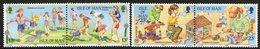 ISLE OF MAN, 1989 CHILDREN'S GAMES 4 MNH - Isle Of Man