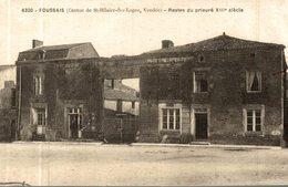 FOUSSAIS RESTES DU PRIEURE - Saint Hilaire Des Loges