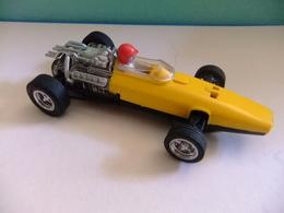 SCALEXTRIC Exin HONDA F 1 Ref C 36 Amarillo / Negro Made In Spain - Circuitos Automóviles
