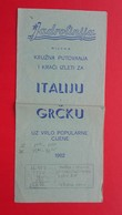 Jadrolinija RIJEKA.KRUZNA PUTOVANJA I KRACI IZLETI ZA ITALIJU I GRCKU - Europe