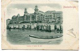 CPA - Carte Postale - Belgique - Blankenberghe - Casino Et Bain De Mer - 1900 (B9002) - Blankenberge