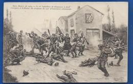ST BLAISE  Le 10° Bataillon De Chasseurs        Animées     écrite En 1914 - Other Municipalities