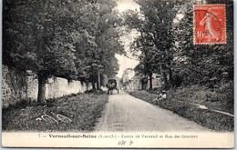 78 VERNEUIL SUR SEINE - Entrée De Verneuil Et Rue Des Graviers - - Verneuil Sur Seine