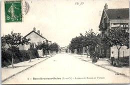 78 BONNIERES SUR SEINE - Avenue De Rouen Et Vernon - - Bonnieres Sur Seine