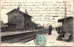 78 BONNIERES SUR SEINE - Vue D'ensemble Des Quais De La Gare - Bonnieres Sur Seine