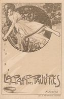 LA PART DES PAUVRES  -   ( DESSIN DE M. BEGOND ) - Verviers