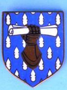 Insigne De GENDARMERIE ECU  Ecoles Des Sous Officiers  (Frais Et Port Inclus) - Police & Gendarmerie