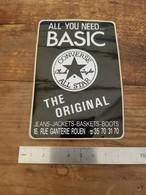 Sticker Autocollant Ancien - Converse All Star - The Original - Magasin Boutique Rouen - Autocollants