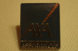 Pin's  AXA Assurances - Administrations