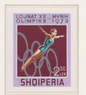 Albania 1972 Olympic Games Munich Imperforated Souvenir Sheet MNH/** (H54) - Ete 1972: Munich