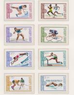 Albania 1972 Olympic Games Munich 8 Stamps MNH/** (H54) - Ete 1972: Munich