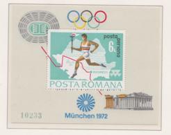 Romania 1972 Olympic Games München   Souvenir Sheet MNH/** (H54) - Ete 1972: Munich