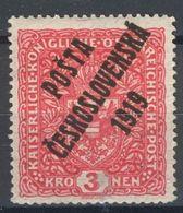 ** Tchécoslovaquie 1919 Mi 60 (Yv 59a), (MNH) - Tchécoslovaquie