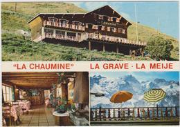 """CPSM  VENTELON-LA-GRAVE 05  Hôtel """"La Chaumine"""" - Autres Communes"""